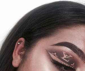makeup, eyeshadow, and goals image