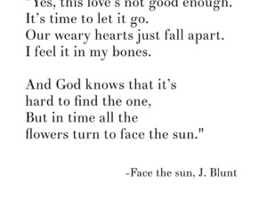 face, james blunt, and Lyrics image