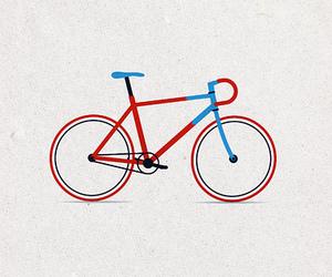 bicycle, bike, and drawing image