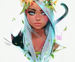 art, drawing, and rossdraws image