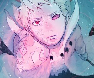 obito, uchiha obito, and jinchuuriki image