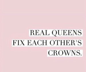 quotes, pink, and crown image