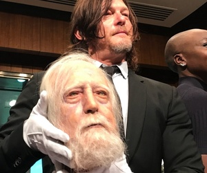 cast, norman reedus, and twd image