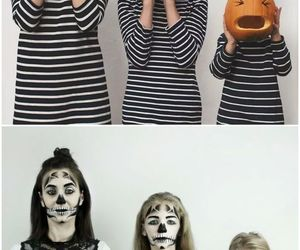 calavera, familia, and Halloween image