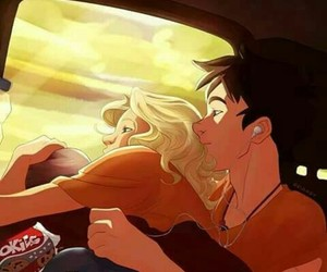 percy jackson, percabeth, and annabeth chase image