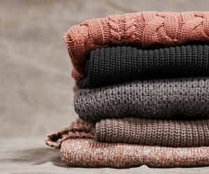 fall, autumn, and sweater image