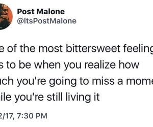quote, twitter, and postmalone image