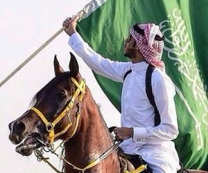 flag, green, and sad image