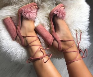 shoes, tumblr, and heels image