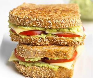 food, recipe, and sandwich image