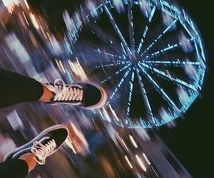 fiends, night, and vans image
