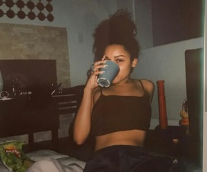 chill, Lazy, and polaroid image