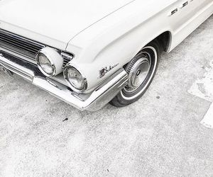 white, car, and aesthetic image