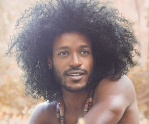 Afro, boy, and men image