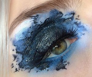 beauty, costumes, and eye image