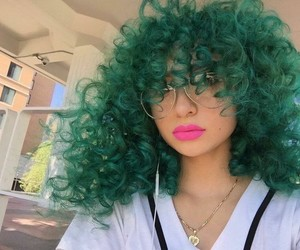 goals, green, and hair image