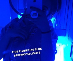 airplanes, blue light, and bun image