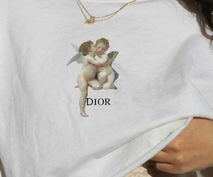 dior, fashion, and angel image