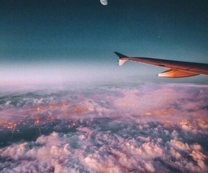 adventure, travel, and clouds image