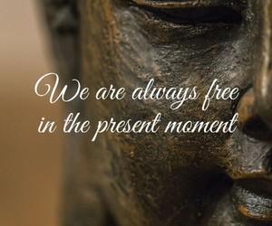 Buddha and quote image