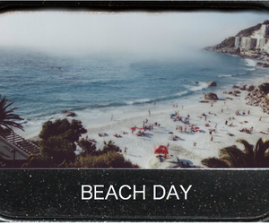 beach, summer, and day image