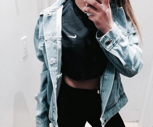 fashion, nike, and girl image
