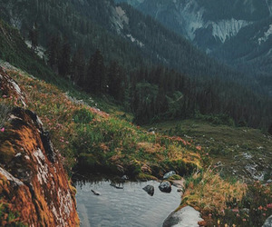 mountains, nature, and background image