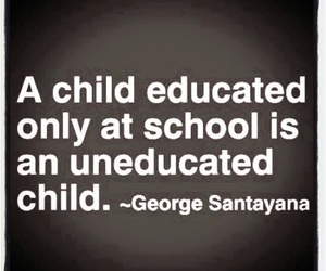 quotes, child, and education image
