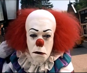 clown and it image