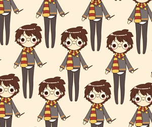 pattern, wallpaper, and harry potter image