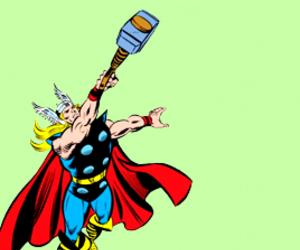 Marvel, thor, and thor odinson image