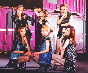 bad girl, snsd, and girls' generation image