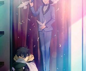 detective conan, kaito kid, and kaito kuroba image