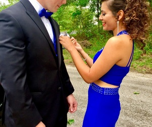 blue and Prom image