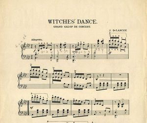dance, music, and witch image