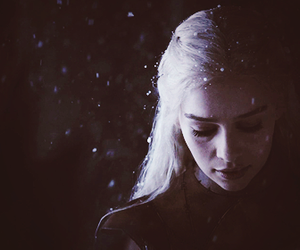 dany, game of thrones, and dragon image