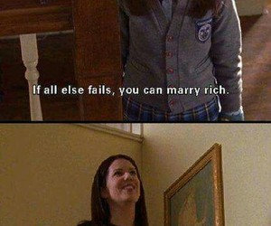 gilmore girls, funny, and girls image