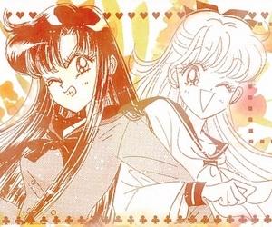 sailorvenus, minakoaino, and sailormars image