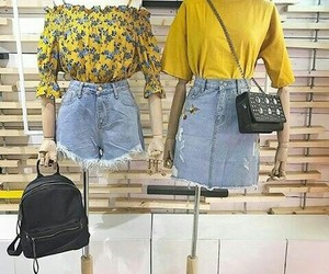 amarillo, clothes, and denim image