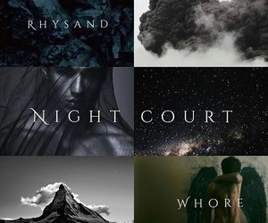rhysand, night court, and acotar image
