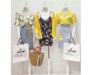 amarillo, clothes, and fashion image