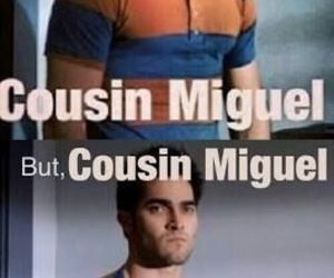 teen wolf, cousin miguel, and derek hale image