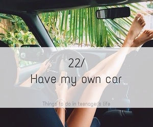 car, own, and life image