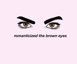 eyes, brown eyes, and brown image
