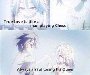 anime, sora, and shiro image