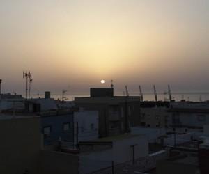 sun, dawn, and photographer image