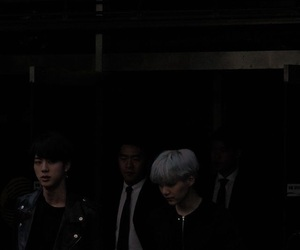 bts, aesthetic, and dark image