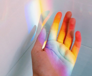 rainbow, wallpaper, and aesthetic image