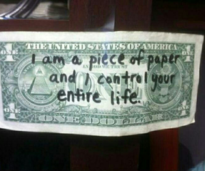 money, life, and quotes image