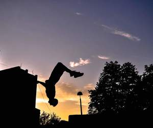 backflip, parkour, and photography image